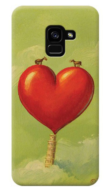 © Paolo Rui; smartphone cover, horse, heart, St.Valentine's Day,