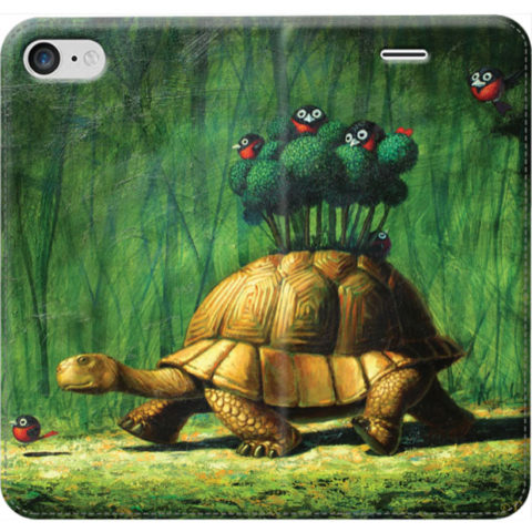© Paolo Rui; smartphone cover, turtle, birds, mobile home, Red Oriole