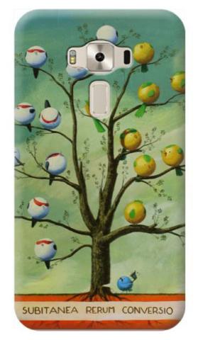 © Paolo Rui; smartphone cover, Subitanea Rerum Conversio, tree, birds, democracy