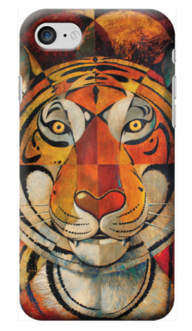 © Paolo Rui; smartphone cover, Tiger, tiger head
